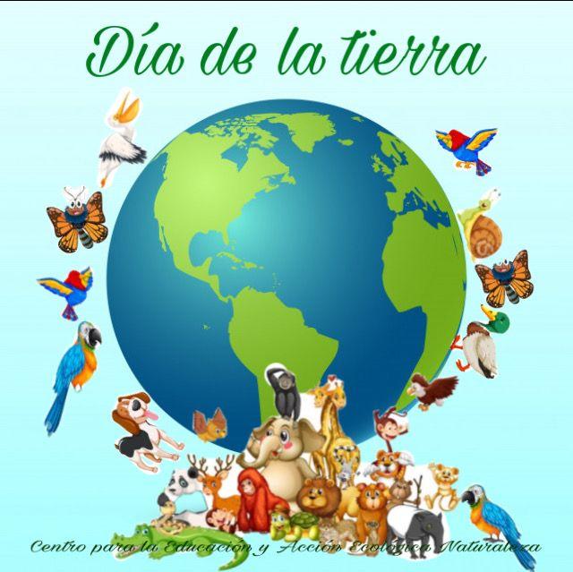 Día internacional de la tierra 22 de abril.