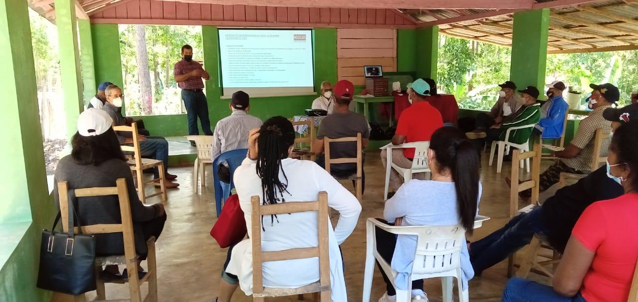 Centro Naturaleza realiza taller sobre proceso de manejo post cosecha de café